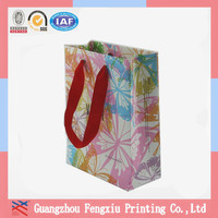 2015 Hot Sale Custom Made Luxury Paper Gift Bag
