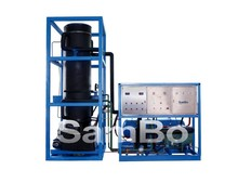 ice machine produce 8t tube ice per day in China Sambo with famous brand components