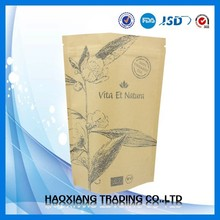 Professional Packaging Factory in China kraft paper coffee bags/Kraft papper bag/zipper bag
