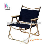 GXS-090 Double Camping Chair Outdoor Folding Camping Picnic Chair