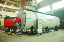 horizontal gas oil fired steam boiler price