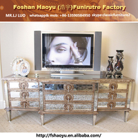 mirror tv showcase designs, ivory antique tv cabinet with showcase