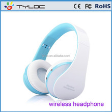 Hot sell handfree stereo wireless bluetooth headset with build in mic