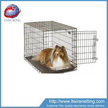 Middle size metal cage for pets/small cat rabbit dog bird cage