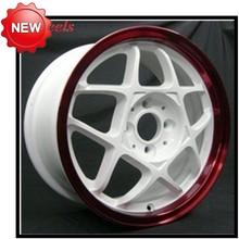 Manufacturers casting aluminum alloy Wheel rim 4*100 PCD