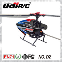 2014 New product Udirc 2.4G 4CH Single blade metal Helicopter models D2