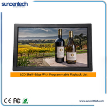 """7"""" to 32 """" LCD Shelf-Edge Player lcd advertising player 1080P With Programmable Playlist & Schedule, USB auto Copy"""