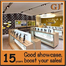 High quality modern computer store counters for computer shop interior design mobile phone retail store design