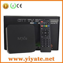 Quad Core XBMC Tv Box Amlogic s805 MXQ android tv box with 4.4 OS support 4K