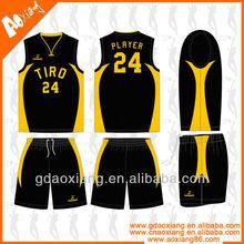 Custom design football league matches basketball jersey wear
