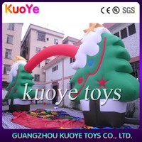 inflatable christmas tree arch,festival inflatable arches,hot chritsmas tree arches inflatable