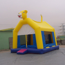Inflatable Moonwalk/Inflatable bouncer with velcro panel/13'*13' inflatable bouncer