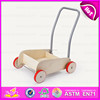 2015 Natural wooden Pull and push go cart,Funny go-cart kids play baby cart toy,Hot sale children wooden toy go cart W16E028D