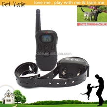 LCD Remote Rechargeable Shock E Collar for Large Dogs Training