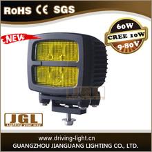 CREE T6 10W Led Work Light cree led work lamp spot flood heavy machinery truck fog lamp