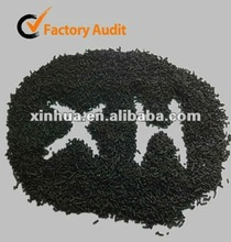 1.5 mm a base de carbón - la purificación del aire cyindrical carbón activado para olor color de remoción