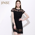 2015 negro sexy nueva moda tallas grandes ropa