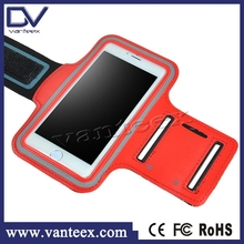 Factory provide running sports armband case for iphone5 cell phone arm band