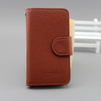 Hot sale new leather flip case cover for apple iphone 3g