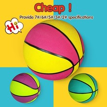 Factory direct saling wholesale mini basketball balls,cheap colorful basketball