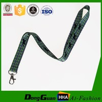 Colorful Polyester Custom Printed ID Card Lanyard Neck Strap with Free Sample