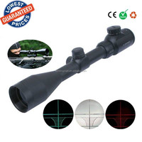 High definition 3-9X44EG hunting Red green laser coordinates Rifle Scope Telescopic Sights for gun hunting accessories