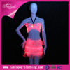 Ladies Sexy Club Wear Bra Tops Dance Wear Top Crop Samba Fitness Luminous Clothing For Stage Performance & Night Events