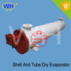 Made in China 56KW stainless steel shell and tube heat exchanger, U tube heat exchanger