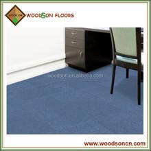 Light Blue carpet , office carpet tile with 100% Nylon Fiber