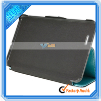 """7"""" Android Mid Tablet Pc Case Crazy Horse Grain Two-Folded PU Leather Case for Asus ME172 Light Blue"""