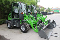 0.8 ton to 2 ton small front end loader mini front end loader for sale with competitive price
