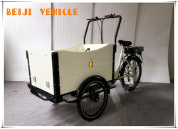 CE family bakfiet shopping and body open fronrt china 3 wheeler