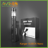 High quality made in china Kanger Subox Nano Starter Kit Pink/Purple/black Color ,kanger subox nano/mini sub ohm