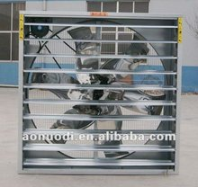 Temperature system cooling exhaust fan with CE
