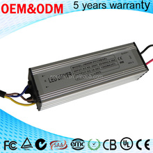 External 70W DC 38~48V 1500mA Constant current LED driver 14 Series 5 parallel high pf efficiency pass ce saa tuv