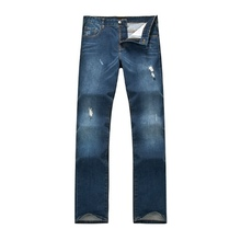 fashion design 100% cotton men jeans pants innovative winter warm straight casual