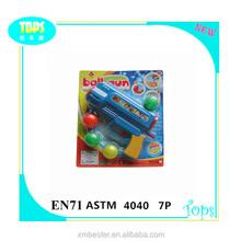 PS High quality plastic mini ping- pong ball gun