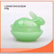 exquisite jade-like glass storage container wholesale