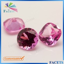 FACETS GEMS 8mm Round Brilliant Cut 1.5# Synthetic Ruby Stone Prices