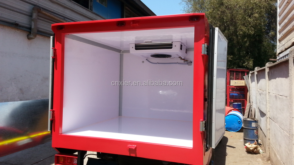 Hot Sale 1 Tons Insulation Box Refrigerated Trailer