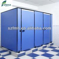 school waterproof hpl bathroom cubicles
