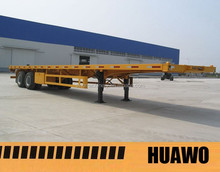 CE Certification and Steel Material used trailer container chassis