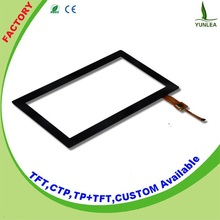 Latest 800x480 capacitive lcd Touch Screen monitor 7 inch