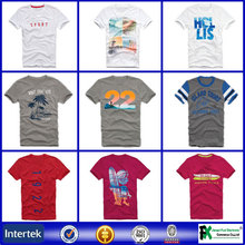 Can be customized cool fit fitted all over printed t shirts