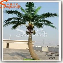 Todos los tipos de plástico palmera de metal decorativo palmeras artificiales falsos al aire libre para la venta