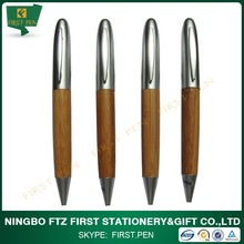 Recycled Bamboo Promotional Pen,Metal Clip