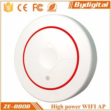 Hot Sale Zhier BCM5357 2T2R 48V POE powered 300M long rage 3g in wall access point