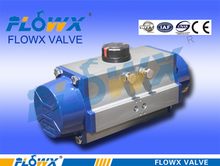 Good quality stylish pneumatic actuator with manual clutch