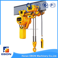 2 ton Low Headroom EBN Model Traveling Chain Hoist Price