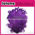 nuevo y encantador color púrpura de pluma de ganso cojines